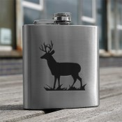 Stag 6oz Flask