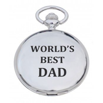 'Best Dad' Pocket Watch