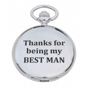 'Best Man' Pocket Watch