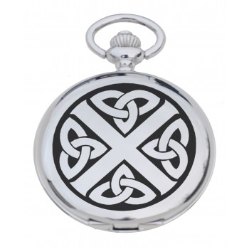 Celtic Saltire Pocket Watch
