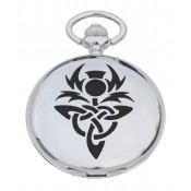 Celtic Thistle Pocket Watch