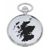 Scotland Map Pocket Watch