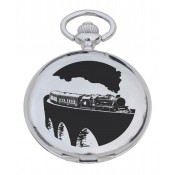 Steam Train Pocket Watch