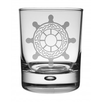 Whisky Tumbler Ships Wheel