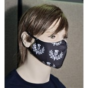 Reusable Face Mask - Scottish Thistles