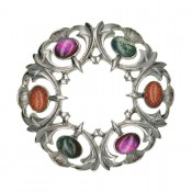 Scottish Thistle Brooch  16