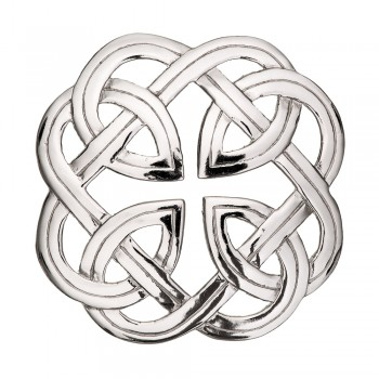 Eternal Interlace Plaid Brooch  187