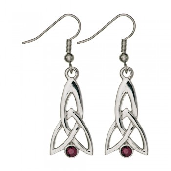 Celtic Fuchsia Earrings  209E