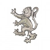 Lion Rampant Brooch Kilt Pin Antique  69 Ant
