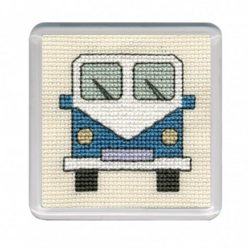 Campervan Coaster - Blue