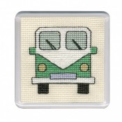 Campervan Coaster - Green