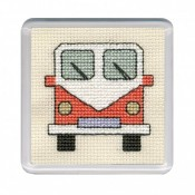 Campervan Coaster - Orange
