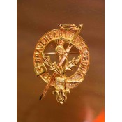 Braveheart Freedom Clan Badge (Gilt Finish)