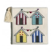 Beach Huts Needle Case