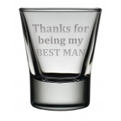 Dram Glass 'Best Man'