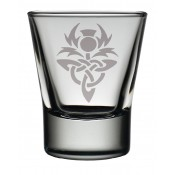 Dram Glass Celtic Thistle