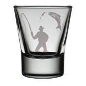 Dram Glass Fisherman