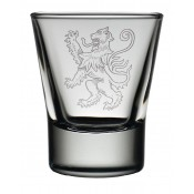 Dram Glass Lion Rampant