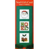 Santa & Pudding Christmas Gift Card