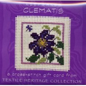 Clematis Keepsake Card