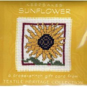 Sunflower Keepsake Card