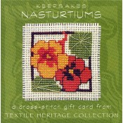 Nasturtiums Keepsake Card
